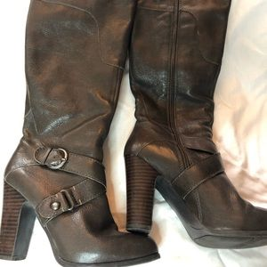 Nine West Millicento Leather Boots